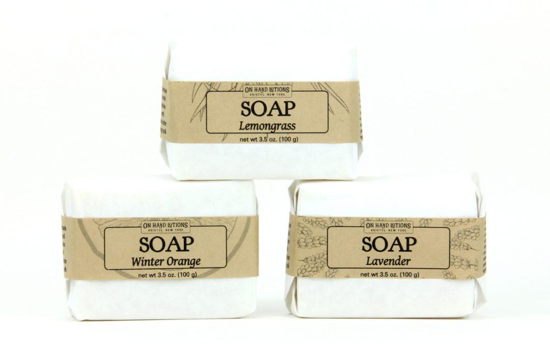Introducing 100% Natural Soap!