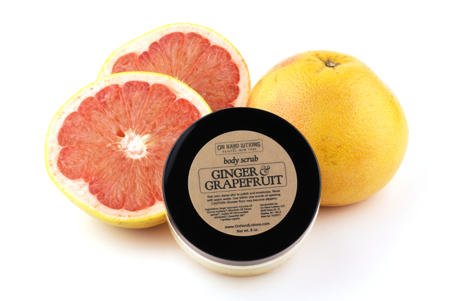 Ginger & Grapefruit Body Scrub