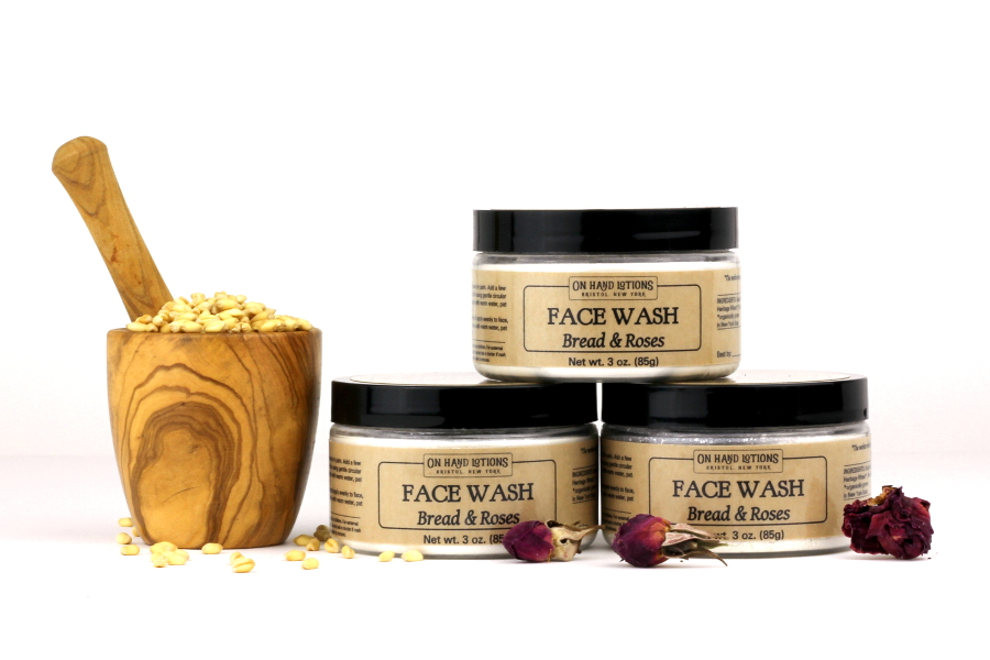 Bread and Roses Facial Mask and Wash